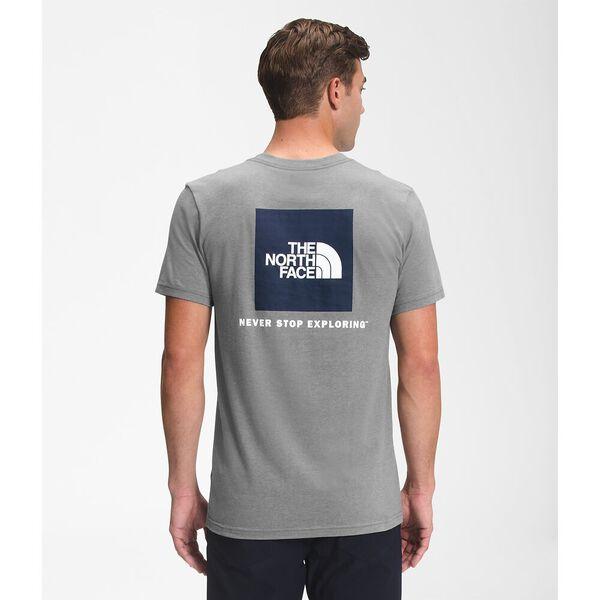 Men's Short-Sleeve Box NSE Tee, TNF MEDIUM GREY HEATHER, hi-res