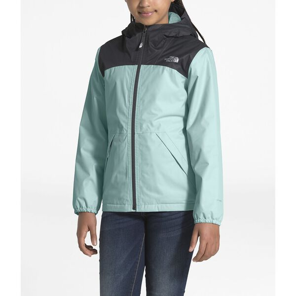 GIRL'S WARM STORM JACKET, WINDMILL BLUE, hi-res