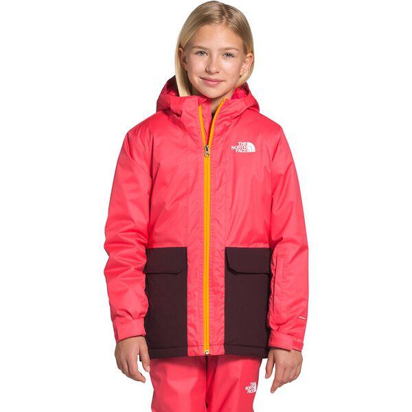 Girls' Freedom Insulated Jacket, PARADISE PINK, hi-res