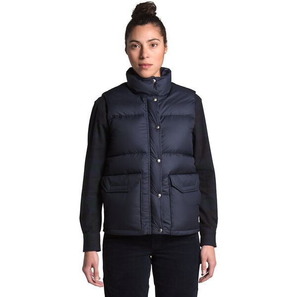 Women's Sierra Down Vest, AVIATOR NAVY, hi-res