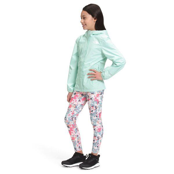 Girls' Resolve Reflective Jacket, MISTY JADE, hi-res