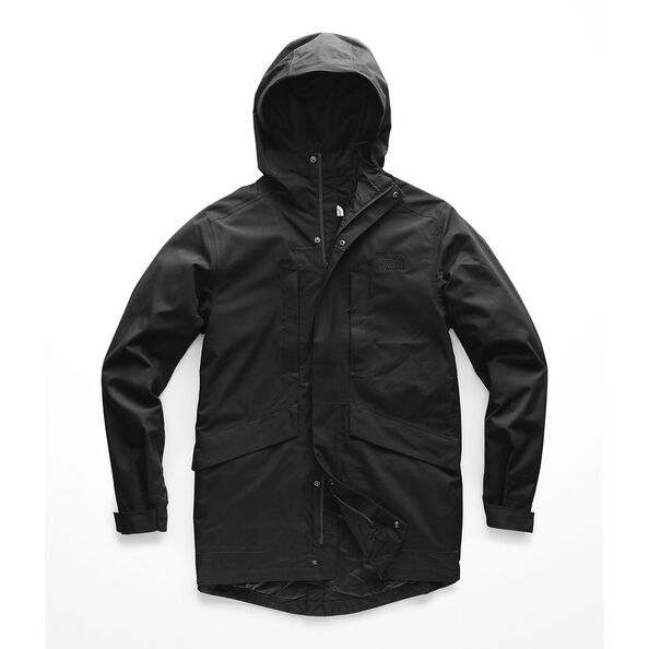MEN'S EL MISTI TRENCH II, TNF BLACK, hi-res