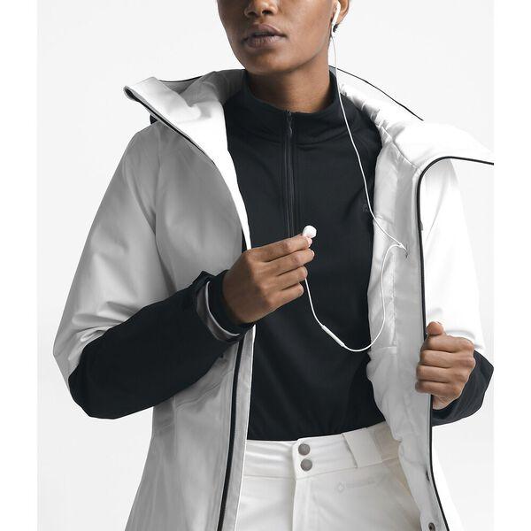 Women's Lostrail Jacket, TNF WHITE/TNF BLACK, hi-res