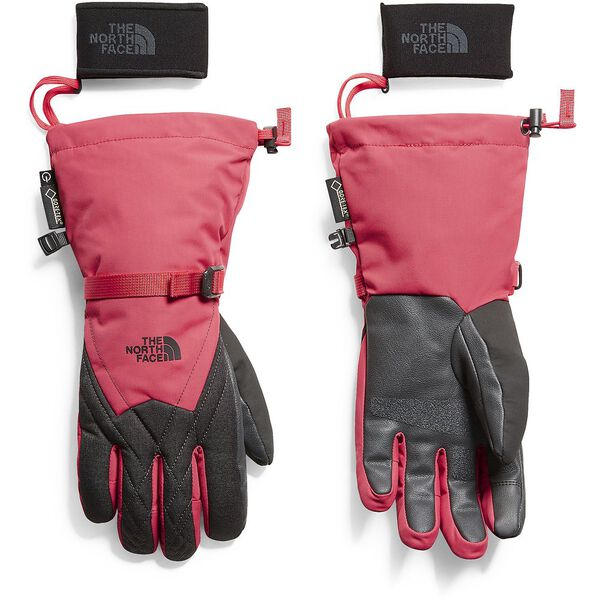 WOMEN'S MONTANA GORE-TEX GLOVE, TEABERRY PINK/TNF DARK GREY HEATHER, hi-res