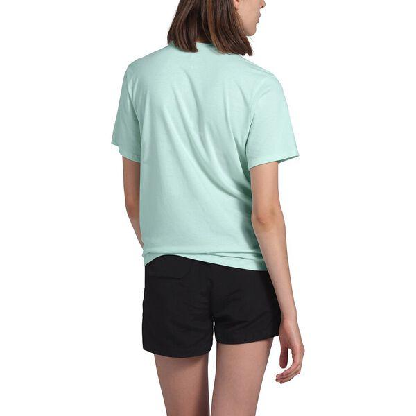 Women's Short-Sleeve Logo Marks Tri-Blend Tee, MOONLIGHT JADE HEATHER, hi-res