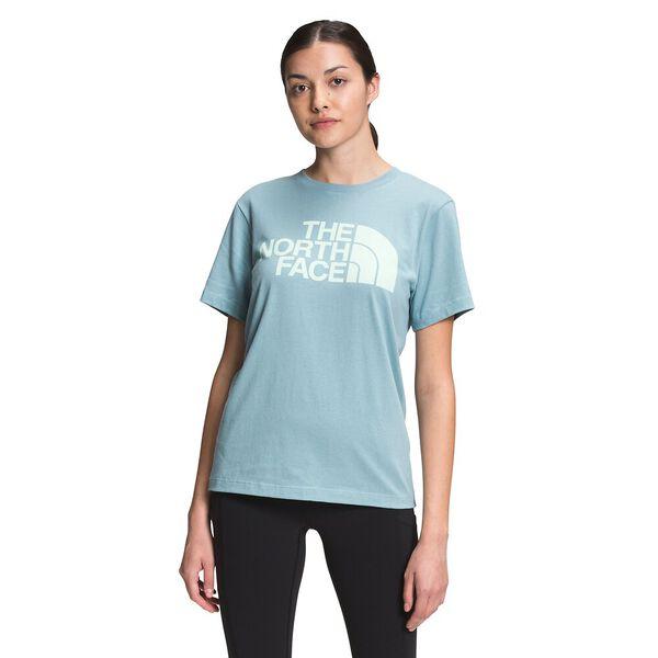 Women's Short-Sleeve Half Dome Cotton Tee