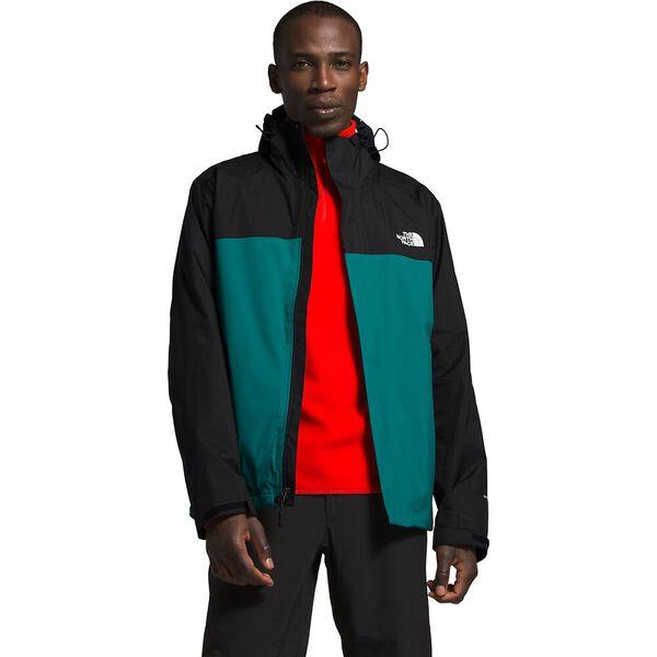 Men's Venture 2 Jacket, FANFARE GREEN/TNF BLACK, hi-res