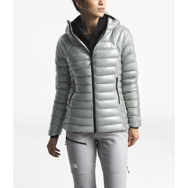 Women's Summit L3 Down Hoodie, MELD GREY/MELD GREY, hi-res