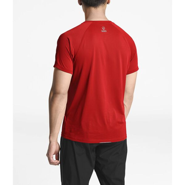 MEN'S FLIGHT BETTER THAN NAKED S/S, FIERY RED, hi-res