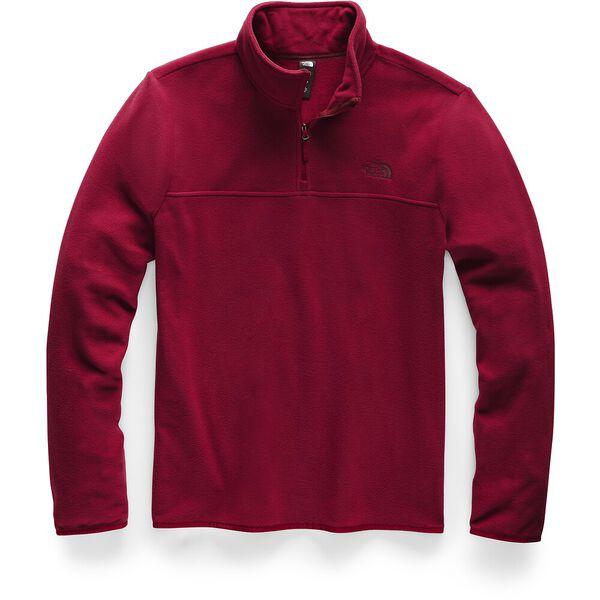 MEN'S TKA GLACIER 1/4 ZIP, CARDINAL RED/CARDINAL RED, hi-res
