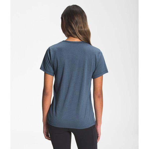 Women's Short-Sleeve Adventure Tee, VINTAGE INDIGO, hi-res