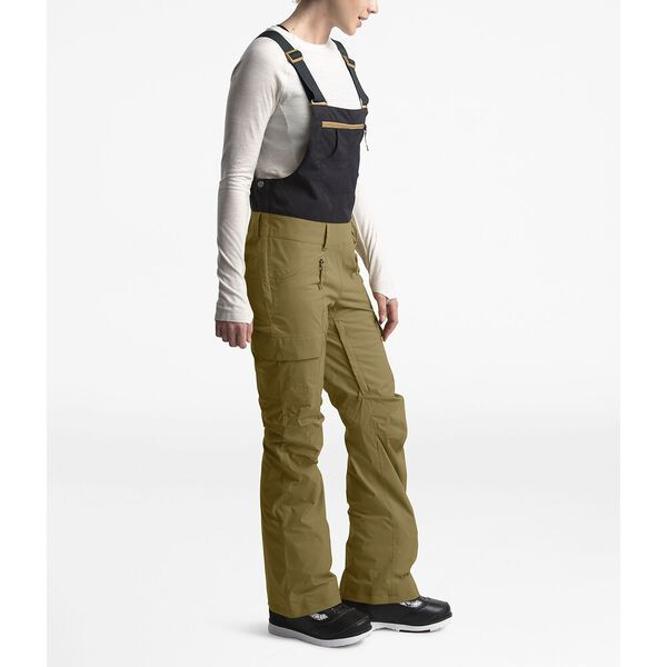 Women's Freedom Bib, BRITISH KHAKI/TNF BLACK, hi-res