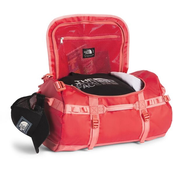 BASE CAMP DUFFEL - S, JUICY RED-SPICED CORAL, hi-res