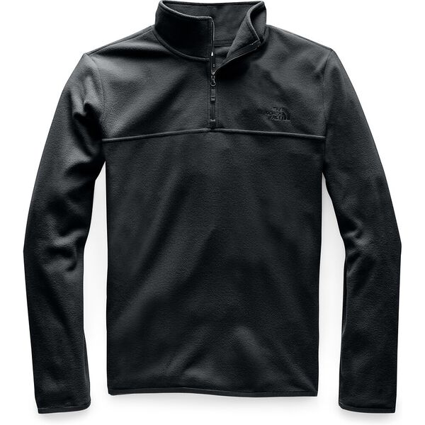 MEN'S TKA GLACIER FLEECE FULL ZIP JACKET, TNF BLACK/TNF BLACK, hi-res