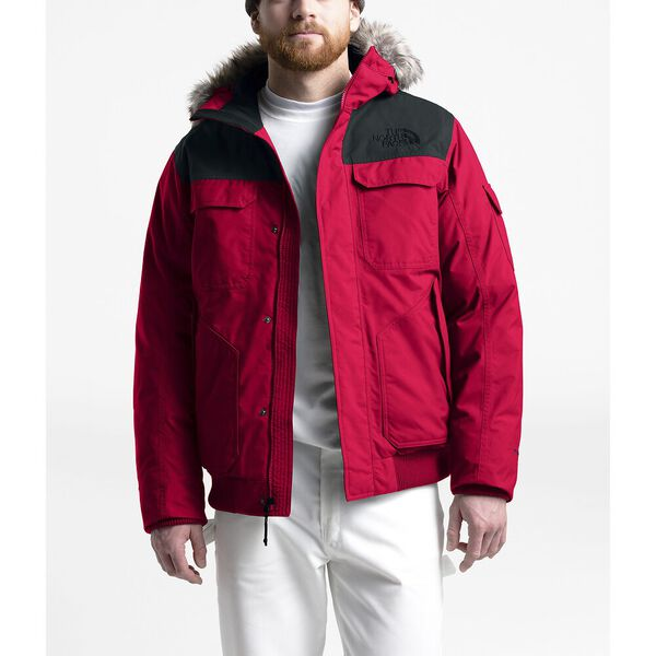 Men's Gotham Jacket III, TNF RED/TNF BLACK/TNF BLACK, hi-res