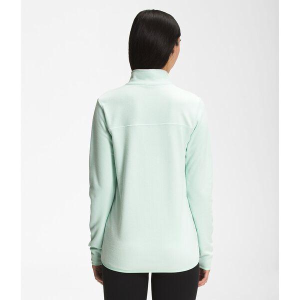 Women's TKA Glacier Fleece ¼ Zip, MISTY JADE, hi-res