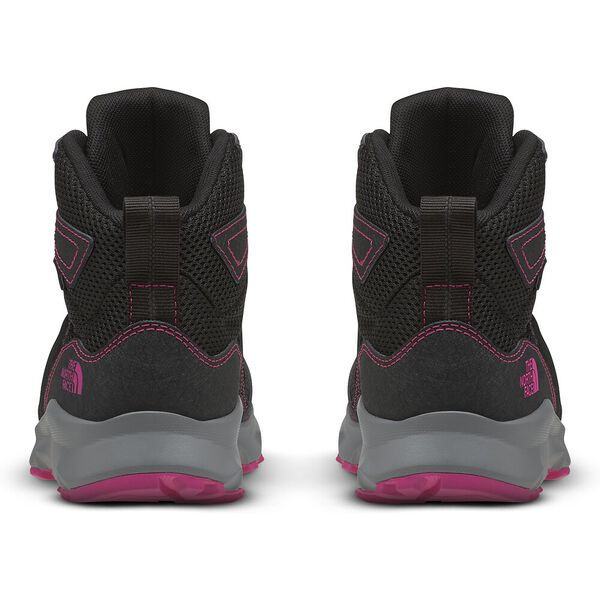 Junior Hedgehog Hiker II Mid WP, TNF BLACK/MR. PINK, hi-res