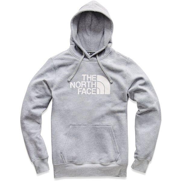 MEN'S HALF DOME HOODIE, TNF LIGHT GREY HEATHER/TNF WHITE, hi-res