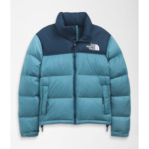 Women's 1996 Retro Nuptse Jacket, STORM BLUE-MONTEREY BLUE, hi-res