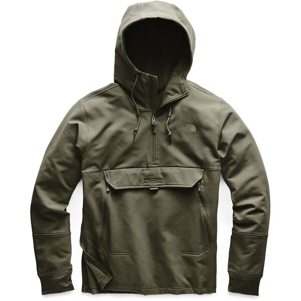 MEN'S TEKNO RIDGE PULLOVER HOODIE, NEW TAUPE GREEN, hi-res