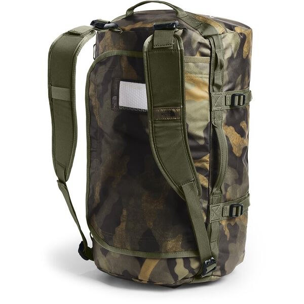 BASE CAMP DUFFEL-S, BURNT OLIVE GREEN WAXED CAMO PRINT/BURNT OLIVE GREEN, hi-res