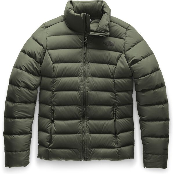 Women's Stretch Down Jacket, NEW TAUPE GREEN, hi-res