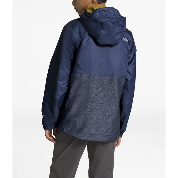 BOYS' WARM STORM JACKET, SHADY BLUE, hi-res