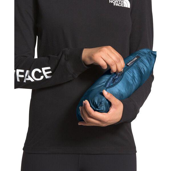 Women's Thermoball™ Eco Hoodie, BLUE WING TEAL MATTE/MALLARD BLUE VAPOR IKAT PRINT, hi-res