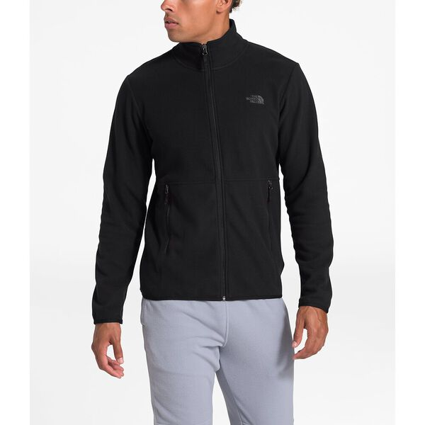 Men's TKA Glacier Full Zip Jacket, TNF BLACK/TNF BLACK, hi-res