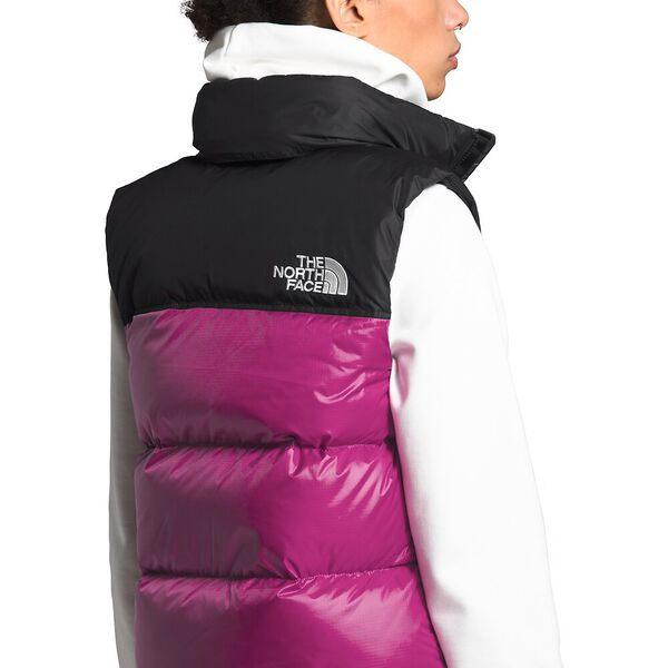 Women's 1996 Retro Nuptse Vest, WILD ASTER PURPLE, hi-res