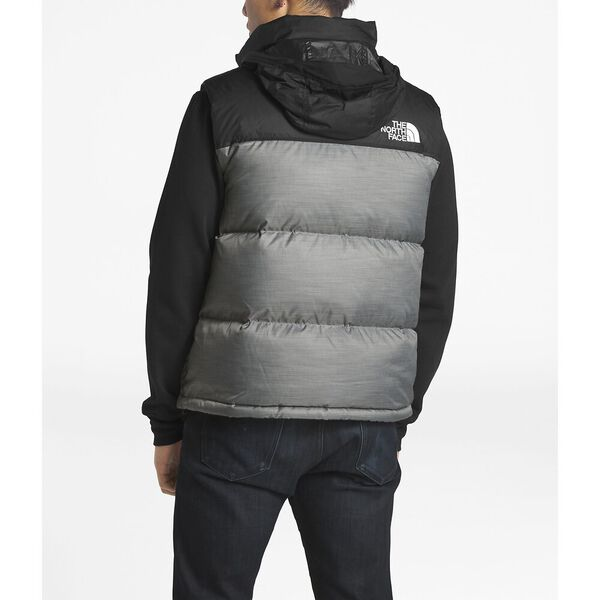 MEN'S 1996 RETRO NUPTSE VEST, TNF MEDIUM GREY HEATHER, hi-res