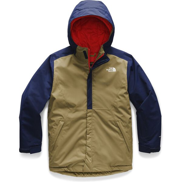 Boys' Brayden Insulated Jacket, BRITISH KHAKI, hi-res