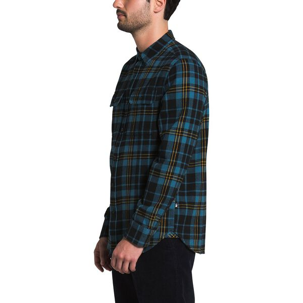 Men's Arroyo Flannel Shirt, TNF BLACK HERITAGE MEDIUM THREE COLOR PLAID, hi-res