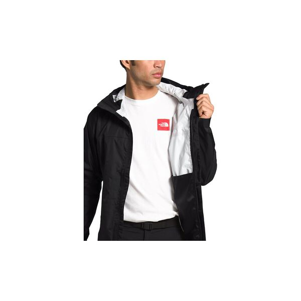 Men's Venture 2 Jacket, TNF BLACK/TNF BLACK/MID GREY, hi-res