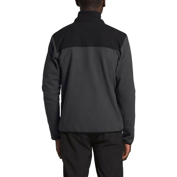 Men's TKA Glacier Full Zip Jacket, ASPHALT GREY/TNF BLACK, hi-res
