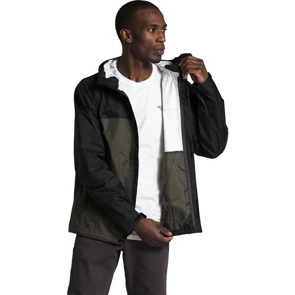 Men's Venture 2 Jacket, TNF BLACK/NEW TAUPE GREEN, hi-res