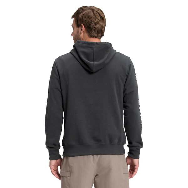 Men's New Sleeve Hit Hoodie, ASPHALT GREY, hi-res