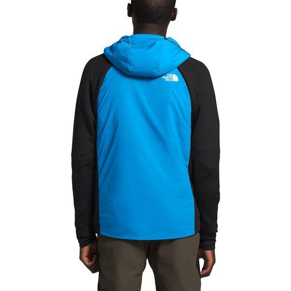 Men's Ventrix™ Active Trail Hybrid Hoodie, CLEAR LAKE BLUE/TNF BLACK, hi-res