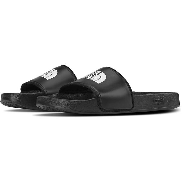 WOMEN'S BASE CAMP SLIDE II SANDALS, TNF BLACK/TNF WHITE, hi-res