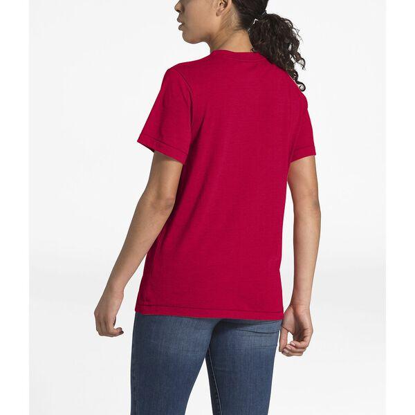Women's Short-Sleeve Bearinda Tri-Blend Tee, TNF RED HEATHER, hi-res