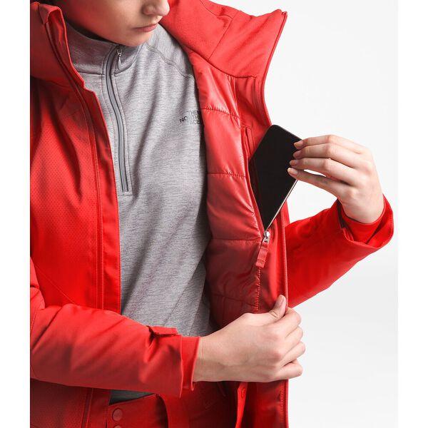 Women's Lenado Jacket, FIERY RED, hi-res