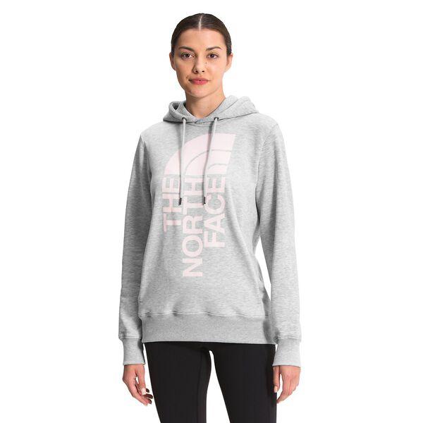 Women's Trivert Pullover Hoodie, TNF LIGHT GREY HEATHER, hi-res