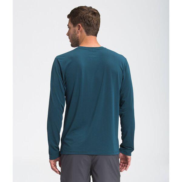 Men's Wander Long-Sleeve, MONTEREY BLUE HEATHER, hi-res