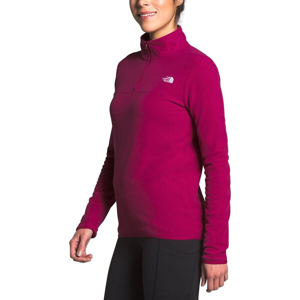 Women's TKA Glacier ¼ Zip, DRAMATIC PLUM, hi-res