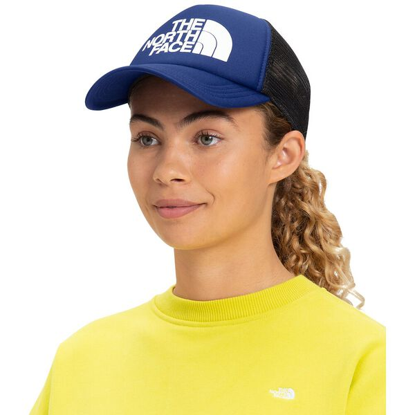 TNF™ Logo Trucker, BOLT BLUE, hi-res