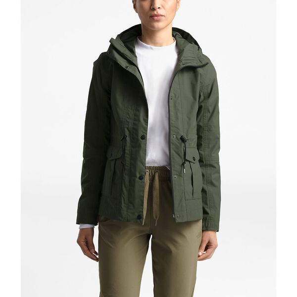 Women's Zoomie Jacket, NEW TAUPE GREEN, hi-res