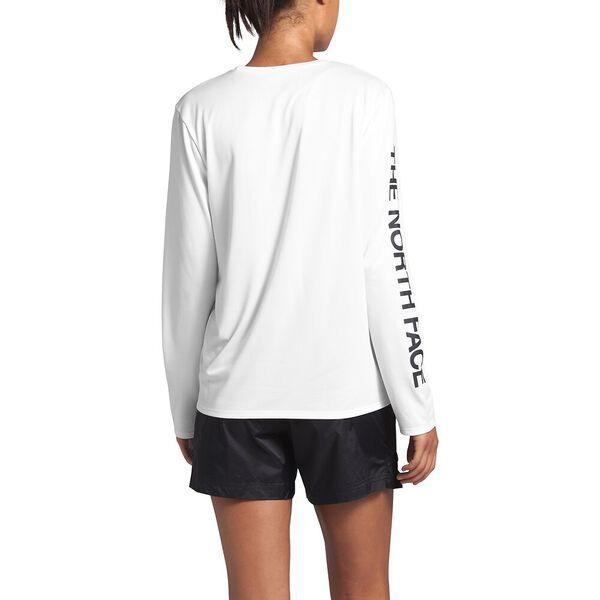 Women's Long-Sleeve Reaxion Tee, TNF WHITE, hi-res