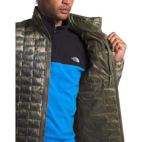 Men's Thermoball™ Eco Jacket, BURNT OLIVE GREEN PONDEROSA PRINT, hi-res