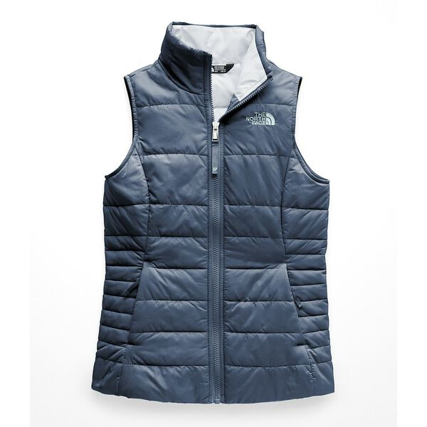 GIRLS' HARWAY VEST, BLUE WING TEAL, hi-res