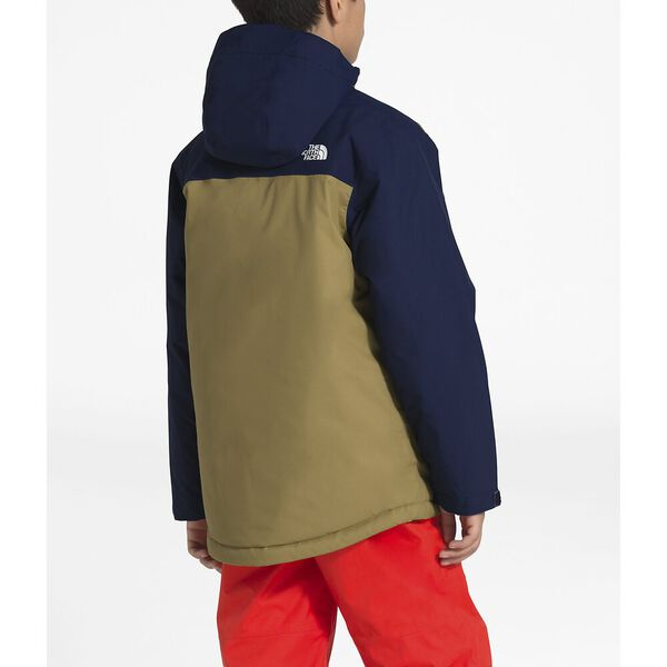 Boys' Brayden Insulated Jacket, BRITISH KHAKI, hi-res